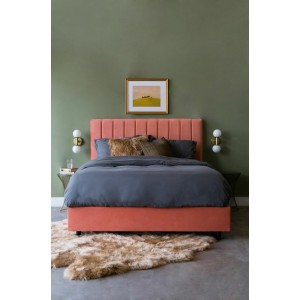 Κρεβάτι Υφασμάτινο B-075